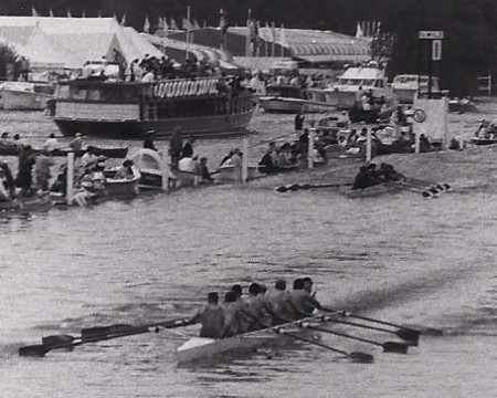 Henley Royal Regatta 1989 Ladies Plate final Notts County vs Harvard
